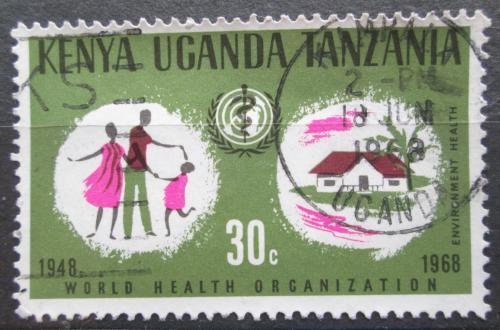 Poštovní známka K-U-T 1968 WHO, 20. výroèí Mi# 173