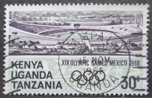 Poštovní známka K-U-T 1968 LOH Mexiko Mi# 177