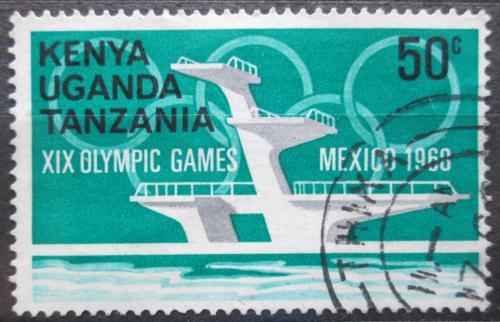 Poštovní známka K-U-T 1968 LOH Mexiko Mi# 178