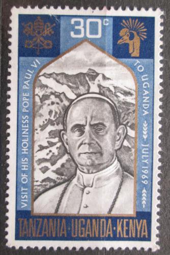 Poštovní známka K-U-T 1969 Papež Pavel VI. Mi# 189