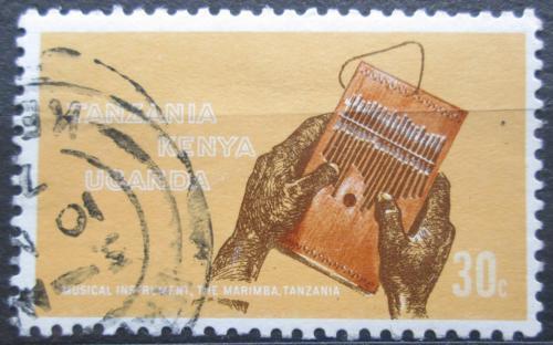 Poštovní známka K-U-T 1970 Hudební nástroj Marimba Mi# 197
