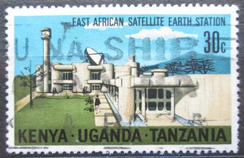 Poštovní známka K-U-T 1970 Pozemní vysílací stanice Mi# 201