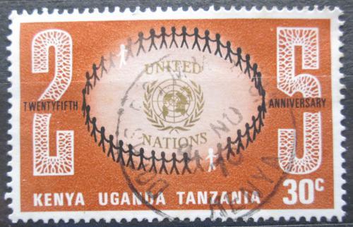 Poštovní známka K-U-T 1970 OSN, 25. výroèí Mi# 209