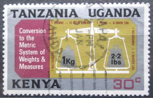 Poštovní známka K-U-T 1971 Pøechod na metrickou soustavu Mi# 213