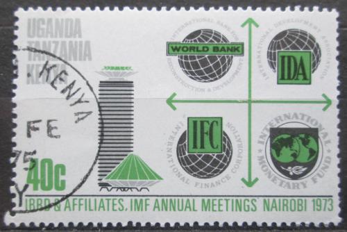 Poštovní známka K-U-T 1973 Konference Svìtové banky Mi# 255