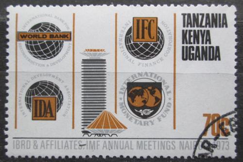 Poštovní známka K-U-T 1973 Konference Svìtové banky Mi# 256