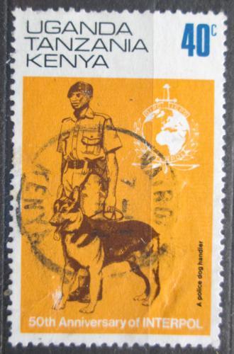 Poštovní známka K-U-T 1973 INTERPOL, 50. výroèí Mi# 259