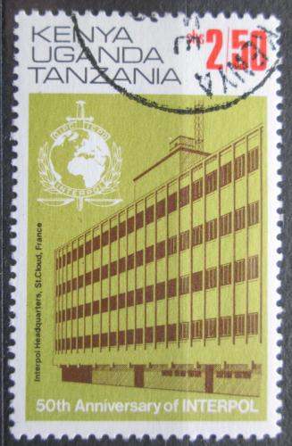 Poštovní známka K-U-T 1974 INTERPOL, 50. výroèí Mi# 262 II Kat 9.50€