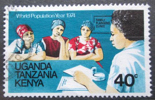 Poštovní známka K-U-T 1974 Svìtový rok obyvatelstva Mi# 283