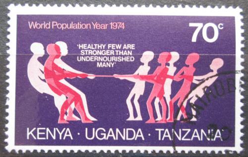 Poštovní známka K-U-T 1974 Svìtový rok obyvatelstva Mi# 284