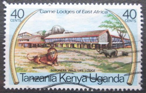 Poštovní známka K-U-T 1975 Safari v Tanzánii Mi# 287