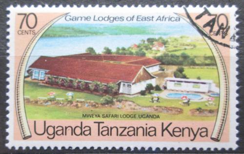 Poštovní známka K-U-T 1975 Safari Mweya v Ugandì Mi# 288