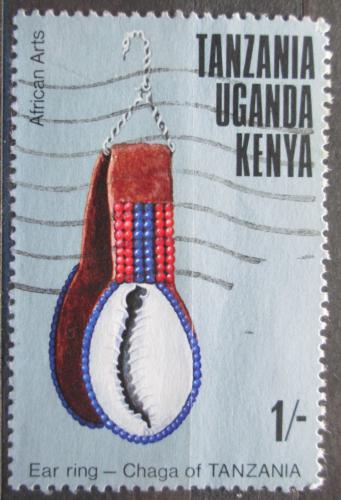 Poštovní známka K-U-T 1975 Øemeslné umìní Mi# 292