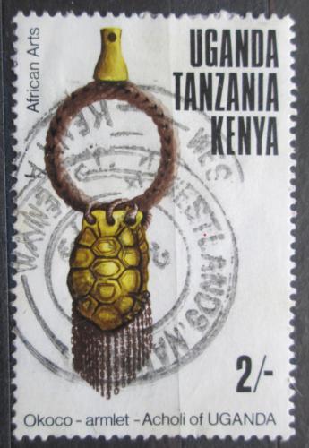 Poštovní známka K-U-T 1975 Øemeslné umìní Mi# 293