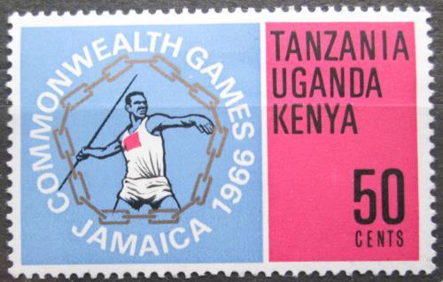 Poštovní známka K-U-T 1966 Hod oštìpem Mi# 153