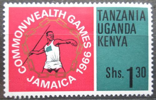 Poštovní známka K-U-T 1966 Hod oštìpem Mi# 154