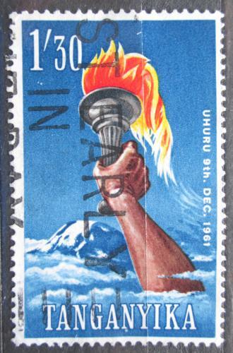 Poštovní známka Tanganyika 1961 Pochodeò a Kilimandžáro Mi# 105