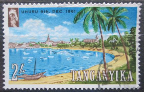 Poštovní známka Tanganyika 1961 Pøístav Dar-es-salam Mi# 106