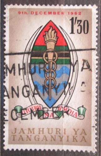 Poštovní známka Tanganyika 1962 Státní znak Mi# 112