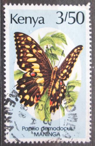 Poštovní známka Keòa 1988 Papilio demodocus, motýl Mi# 424