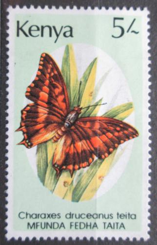 Poštovní známka Keòa 1988 Charaxes druceanus, motýl Mi# 426