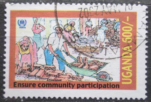 Poštovní známka Uganda 2001 Spoleènost Mi# 2348