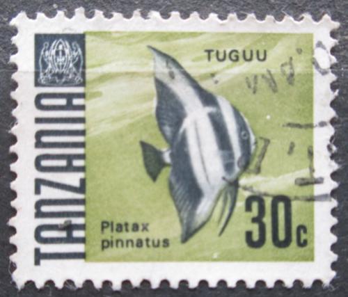 Poštovní známka Tanzánie 1967 Netopýrník tmavý Mi# 23