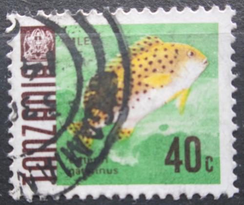 Poštovní známka Tanzánie 1967 Gaterin gaterinus Mi# 24