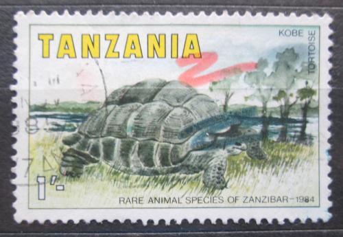 Poštovní známka Tanzánie 1985 Želva obrovská Mi# 258