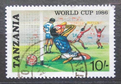 Poštovní známka Tanzánie 1986 MS ve fotbale Mi# 344