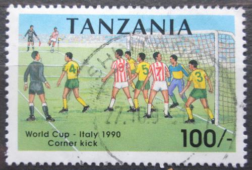 Poštovní známka Tanzánie 1990 MS ve fotbale Mi# 728