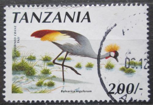 Poštovní známka Tanzánie 1990 Jeøáb paví Mi# 745