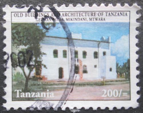 Poštovní známka Tanzánie 2000 Historický dùm v Mikindani Mi# 4000