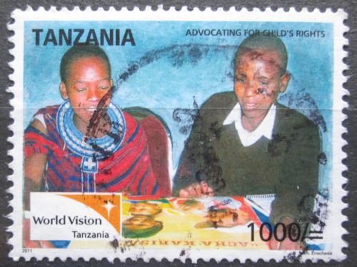 Poštovní známka Tanzánie 2011 Práva dìtí Mi# 4842