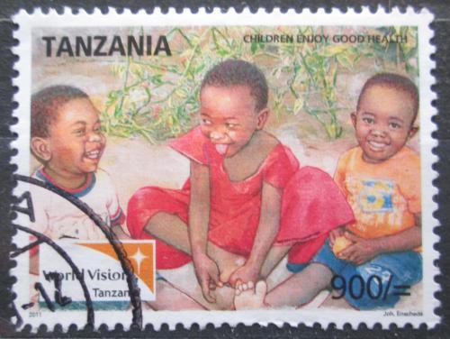 Poštovní známka Tanzánie 2011 Práva dìtí Mi# 4841