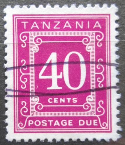 Poštovní známka Tanzánie 1978 Doplatní Mi# 23 Kat 4€