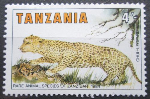 Poštovní známka Tanzánie 1985 Levhart skvrnitý Mi# 259