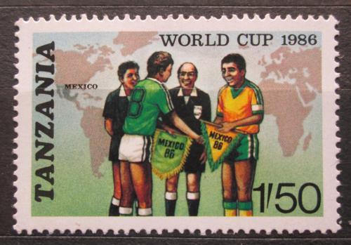 Poštovní známka Tanzánie 1986 MS ve fotbale Mi# 342