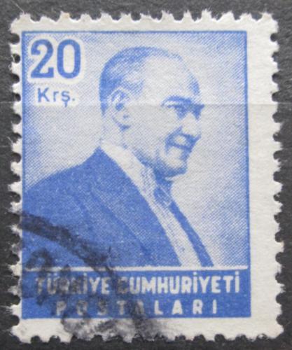 Poštovní známka Turecko 1955 Kemal Atatürk Mi# 1471