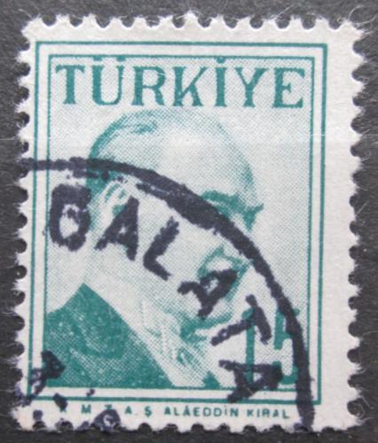 Poštovní známka Turecko 1958 Kemal Atatürk Mi# 1581