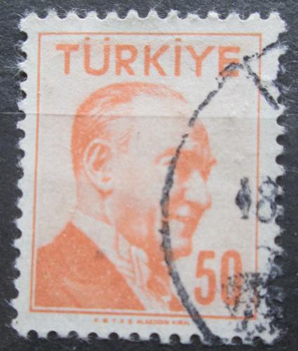 Poštovní známka Turecko 1958 Kemal Atatürk Mi# 1587
