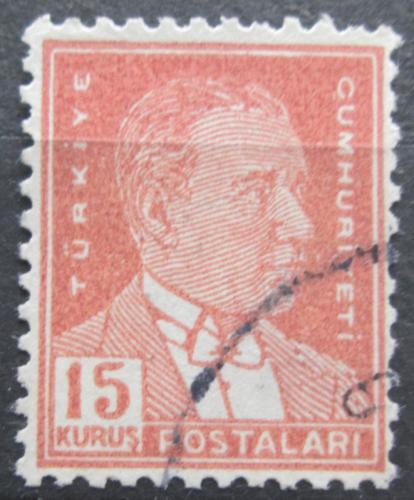 Poštovní známka Turecko 1954 Kemal Atatürk Mi# 1383