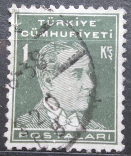 Poštovní známka Turecko 1951 Kemal Atatürk Mi# 1275