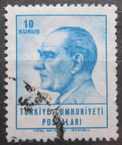 Poštovní známka Turecko 1964 Prezident Kemal Atatürk Mi# 1931