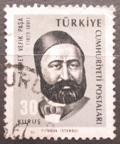 Poštovní známka Turecko 1966 Ahmet Vefik Paºa, grafik Mi# 1985