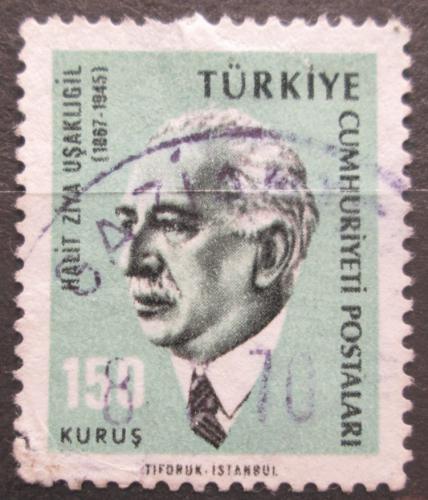 Poštovní známka Turecko 1966 Halit Ziya Uºaklıgil, spisovatel Mi# 1988