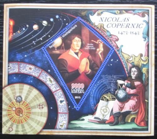 Poštovní známka Madagaskar 2013 Mikuláš Kopernik Mi# N/N
