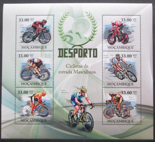 Poštovní známky Mosambik 2010 Slavní cyklisti Mi# 3725-30 Kat 10€