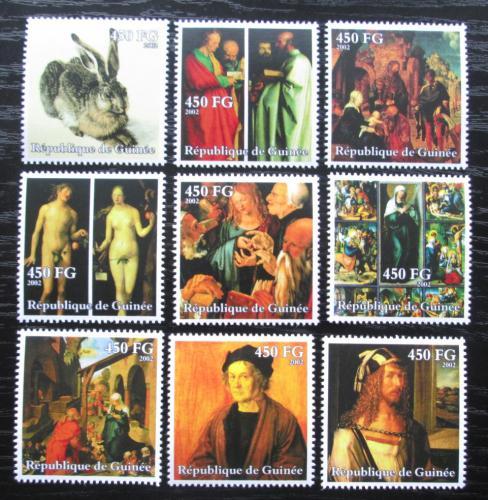 Poštovní známky Guinea 2002 Umìní, Albrecht Dürer Mi# 3898-3906