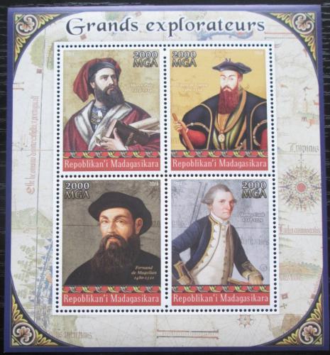 Poštovní známky Madagaskar 2014 Slavní moøeplavci Mi# N/N